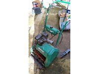 qualcast lawn mower petrol cylinder mower