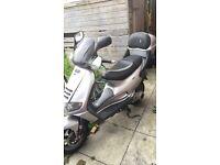 125cc moped **550 N\O**