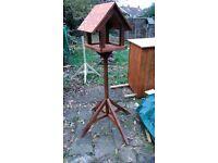 Handmade bird feeder