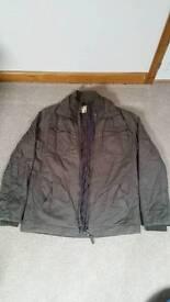 Men's large khaki jacket