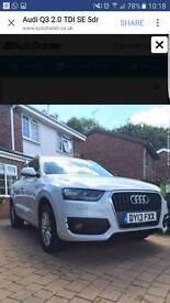 39k Audi Q3 2.0 TDI SE