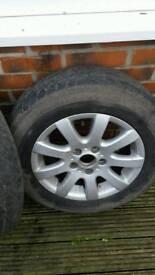 Golf mk5 alloy wheels with 195x65x15