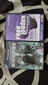Rare Metal gear solid twin snakes US GameCube game