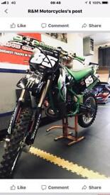 Kawasaki kx85 big wheel