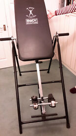 Inversion Table - Body Sculpture - for back pain and gravity therapy