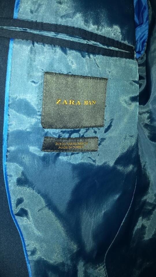 Herrenanzug von Zara -blau- in Nordrhein-Westfalen - Siegen