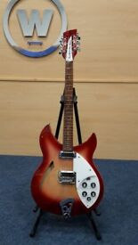 Rickenbacker 330 12 String Guitar c/w Hard Shell Case Serial Number 01 32533 For Auction