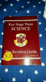 Key stage 3 revision guide books maths English science