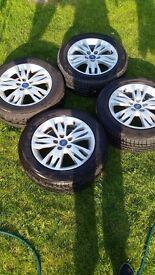 "Ford Focus Genuine 16"" Wheels"