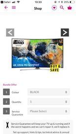 4K ultra hd curved tv.