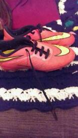 Nike football boots size 13