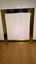 **GOLD/BRASS FIRE SURROUND TRIM**