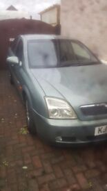 I am selling my Vauxhall Vectra . The car runs smooth and has just had its MOT done