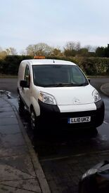 2010 citroen nemo van 85k with rear seats no vat