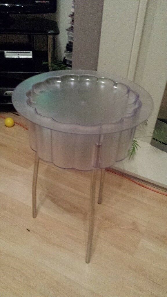 Glass Ice Bucket with lid & Stand - CAN DELIVER LOCAL