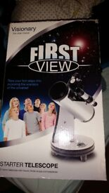 Visionary first view telescope