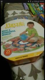 Child's circular jigsaw puzzle