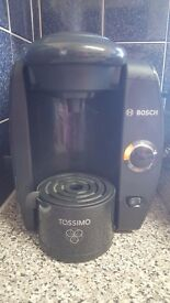 Tassimo Coffee Machine, big water tank, great condition hardly used!