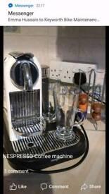 Nespresso coffee machine VGC