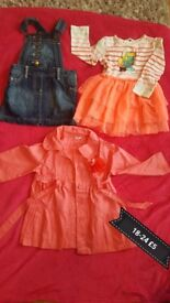 Girls clothes 18-24m great condition