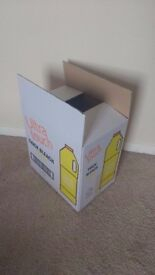 NEW Cardboard boxes 320mm x 215mm x 325mm Single Wall Printed