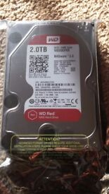 Western Digital 2TB Red 3.5 inch Hard Disk Drive WD20EFRX