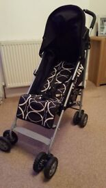 Folding Baby Buggy, OBABY Atlas purchased from Mothercare