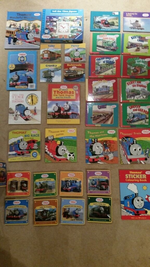 Thomas the Tank Engine. Toys books and Jigsaw puzzle | in Aberdeen ...