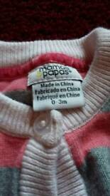 0-3 months Mamas & Papas baby girl's clothes