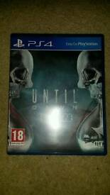 Until Dawn PS4 Game