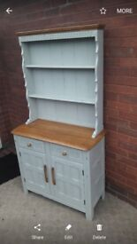 Wooden priory shabby chic dresser