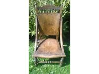 vintage very unusual statement chair