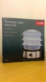 LOGIK Steamer Model L90SSS17 - brand new and unused