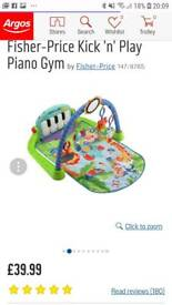 play gym with piano