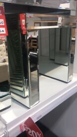 Glass console table for sale
