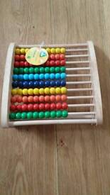 Elc abacus teaching frame - new