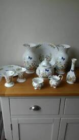 Job jot of anysley China cottage garden all in great condition