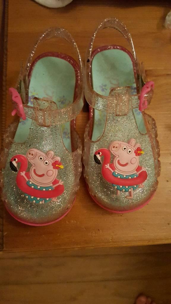 e4ec95eca714 Peppa pig jelly shoes