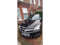 3 door vauxhall astra black 1.7cdti