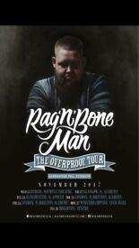 2 x Rag n Bone Man tickets