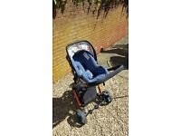 Cosatto Giggle 2 Travel System (inc Isofix base) RRP 600