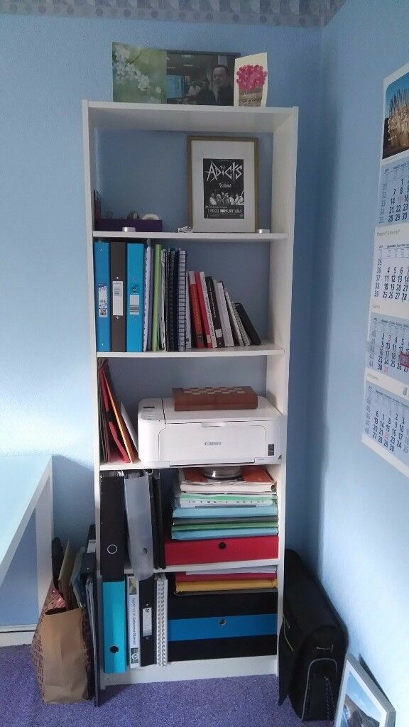 White bookcase BILLY from Ikea
