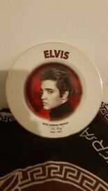 Elvis plate for sale 15 pound ono