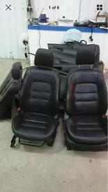 Mazda 6 leather interior