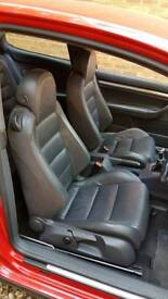 Leather GTI Interior to fit VW Golf MK5 3 door (2004 to 2008)