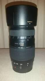 TAMRON AF 70-300mm tele macro camera lens