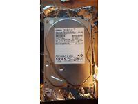 """PC Hard Drive HDD Hitachi Deskstar HDP725050GLA360 3.5"""" 500GB SATA"""