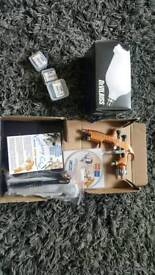 Devilbiss spray gun brand new in the box with accessories