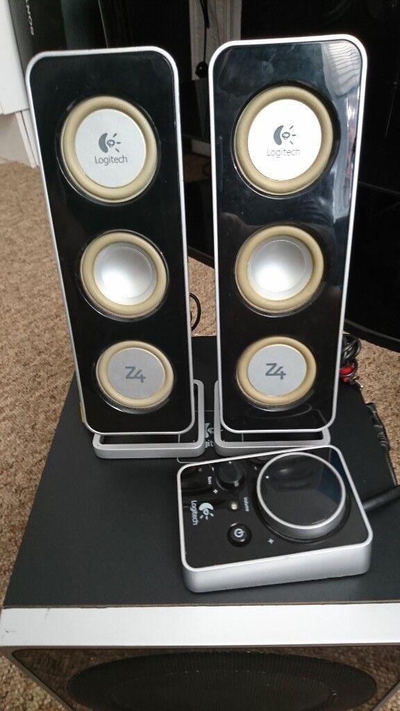 dba498d15d9 Logitech Z4 speakers   in Torquay, Devon   Gumtree
