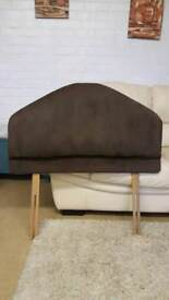 Single padded headboard